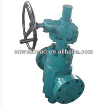 GEAR OPERATION GATE VALVE,API 6A MANUAL GATE VALVE