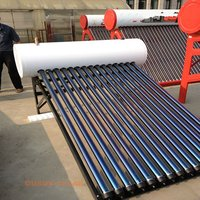 Compact Heat Pipe Pressure Solar Water Heater