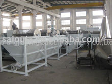 pp pe film crush,wash,drying and plastic recycle machine
