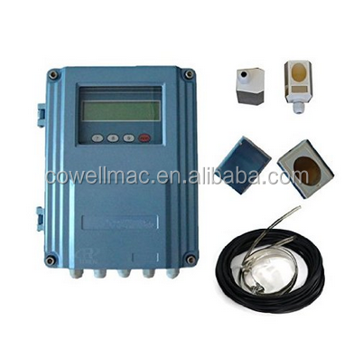 Water Meter Flowmeter Ultrasonic Wall Mounted Flow Meter RS485 for Liquids DN50-DN6000mm Sensor Transducer
