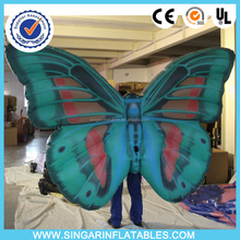 inflatable led belly dance costume wing