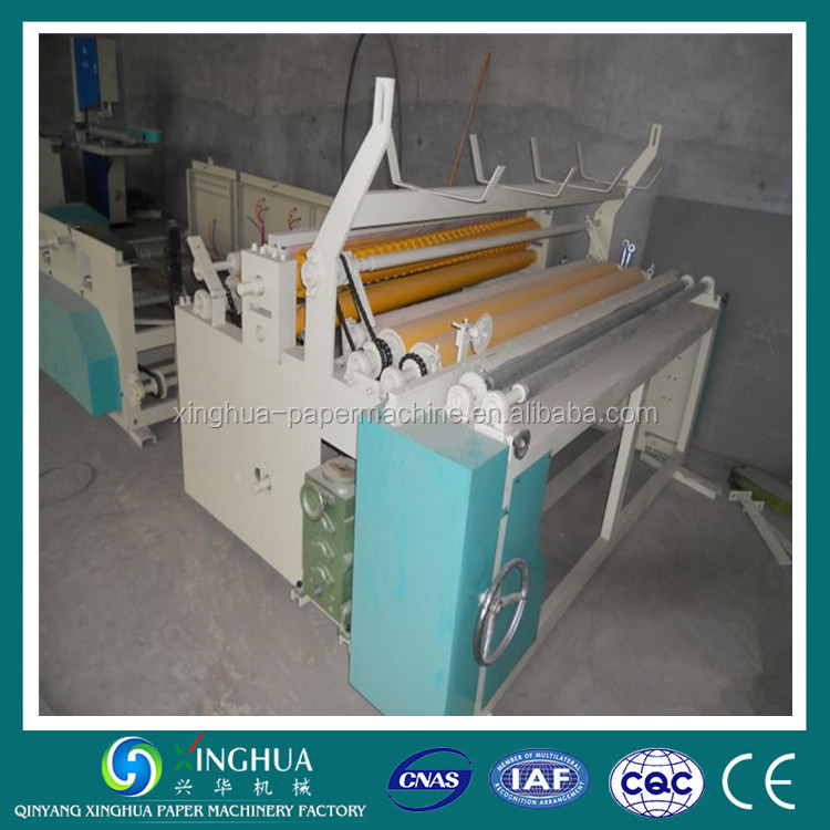 Cast iron quality of toilet paper roll rewinding machine
