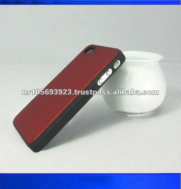 leather sticker mobile phone case for iphone 4 g