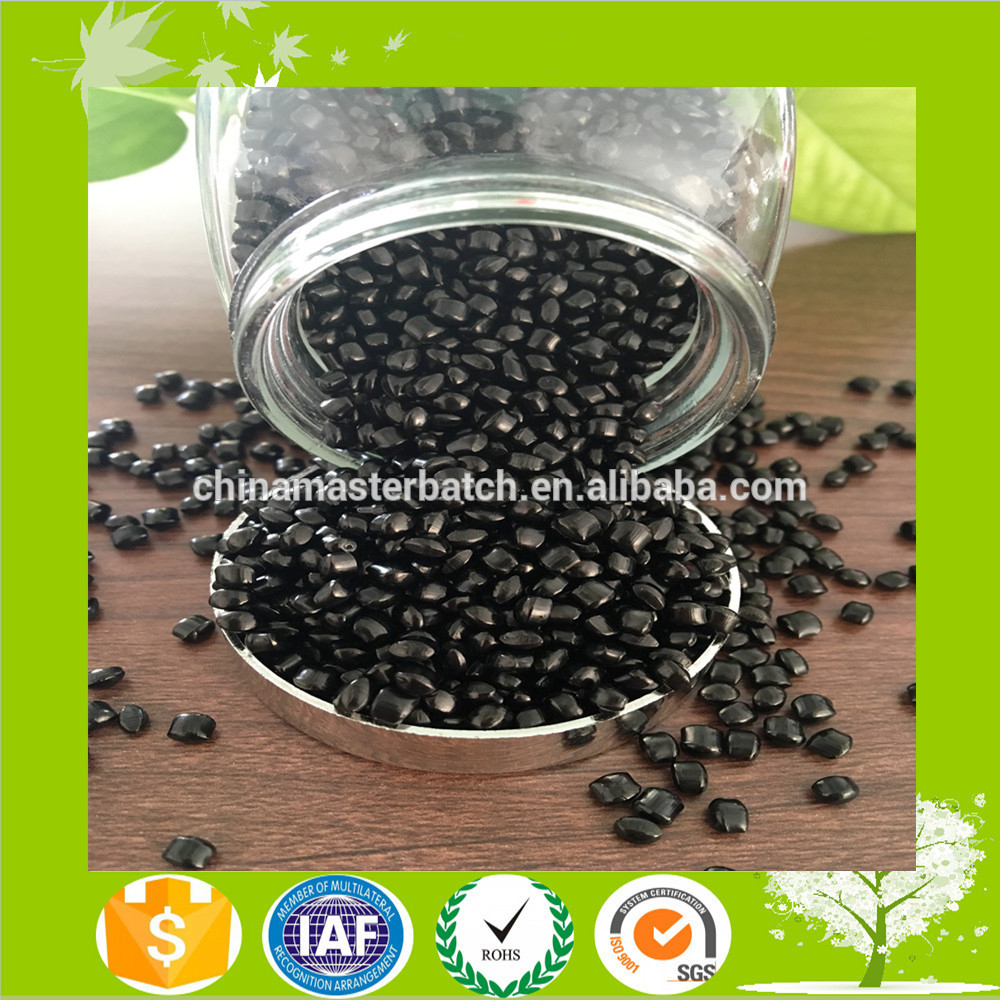 High density plastic carbon black masterbatch suitable for PE, PP, PS, ABS, of PVC, the PC, PA, PBT, PU, EVA