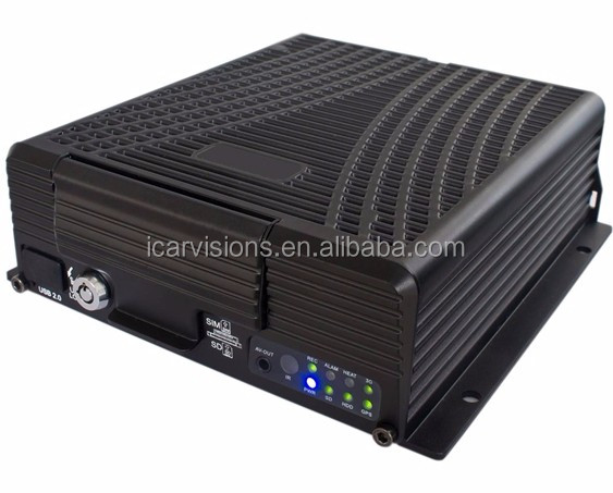 4 Channels High Definition Hard Disk hikvision mobile dvr 3g wifi gprs gps mobile dvr