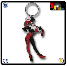 DC Comics Harley Quinn Soft Touch PVC Keychain/voodoo doll
