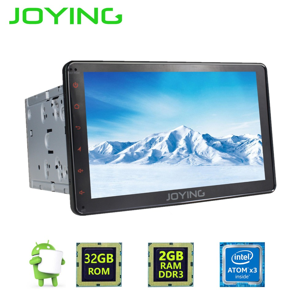 8.0 Inch Double Din Android 6 0 Car DVD GPS Player for Universal Audio with Bluetooth 4G Radio TV Tuner