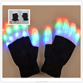 Luminous LED Flash Festival Gloves for Promotion Gifts