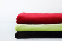 100% Polyester cheap high end crush velvet buy fabric from china