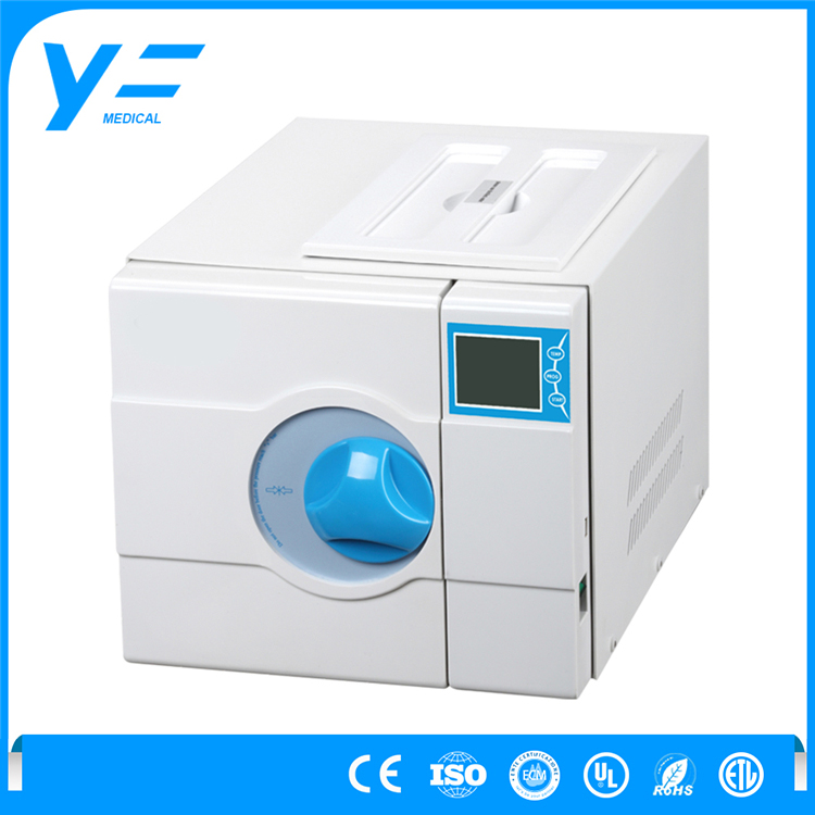 8L Dental LCD Display Drying Vacuum Prestige Medical Autoclave Machine