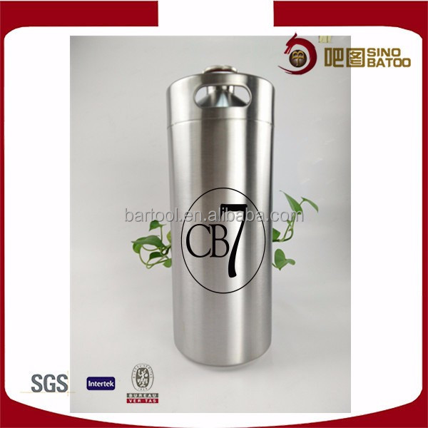 3.6 l stainless steel single beer cask for sale