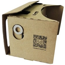 Flat Package Envelope Foldable 3D Glasses Google cardboard VR