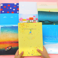 16K Cute Car Line Notebook Cute