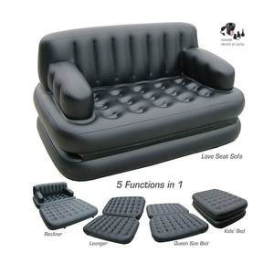 Hot selling Inflatable sofa chair comfortable outdoor home air lazy sofa