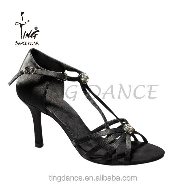 new high heel shiny diamond latin dance shoes