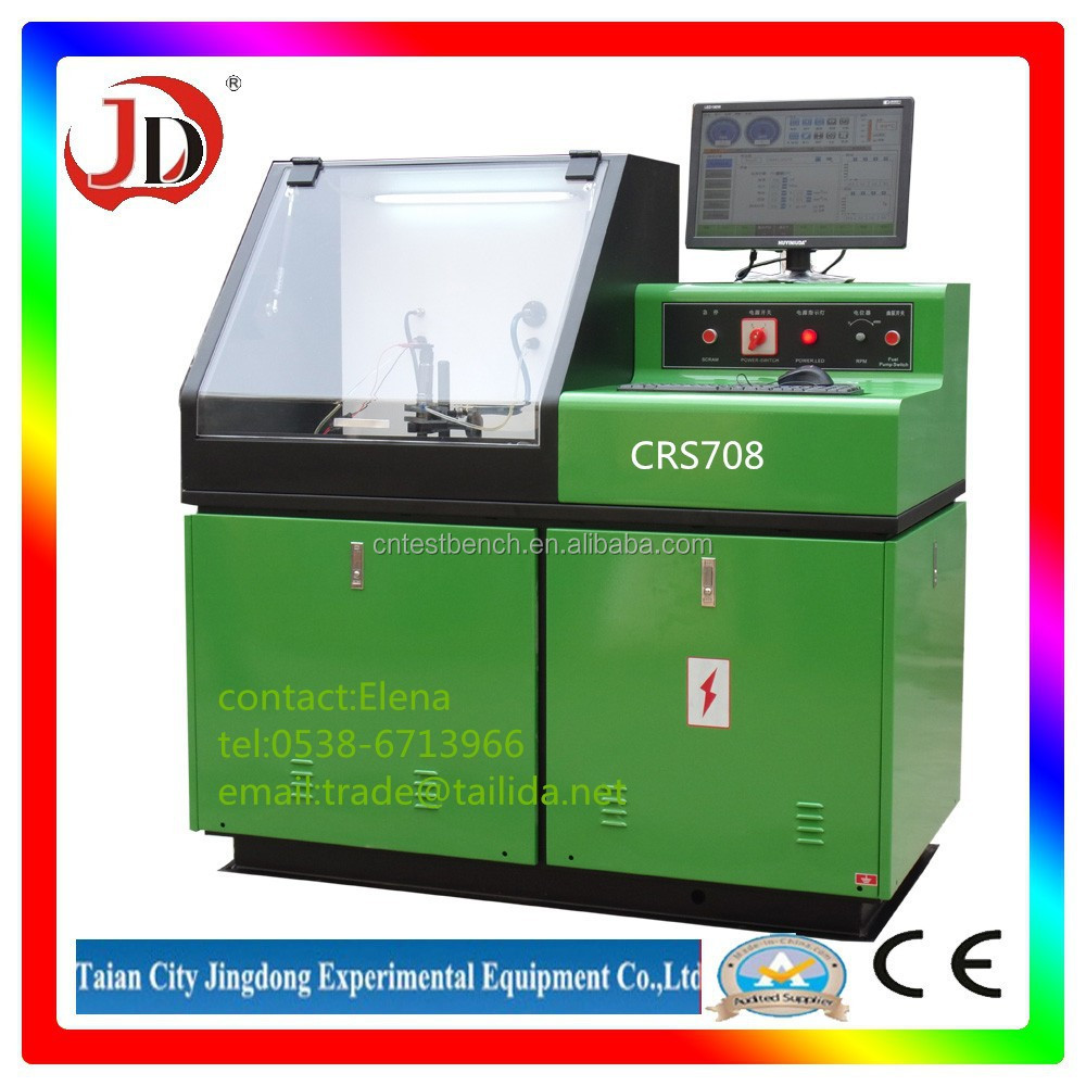 JD-CRS708 common rail pizo injection test bench manufactures