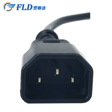 suffix plug male to female cable UL Approval Connector Electrical Cable ac power/ High Quality/fast delivery