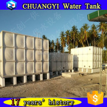 sectional potable fiberglass water tank with cheap price