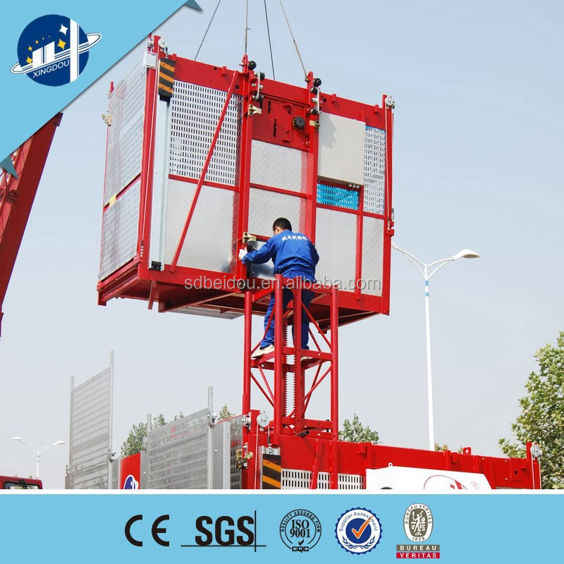 high quality outdoor building lift elevator