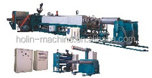 PS machine, PS extruder, PS double stage plastic extrusion machine