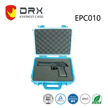 ABS Plastic Box Tactical Hard Pistol Gun Case with Padded Foam Lining