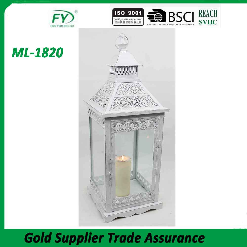 ML-1820-41 Chinese High-level wholesale antique metal kerosene pressure candle lantern