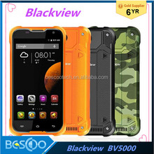 Blackview BV5000 Mobile Phone 5'' 1280x720 HD MTk6735 Quad Core Android 6.0 2GB+16GB 8MP Cam 4G LTE Waterproof IP67 cell phone