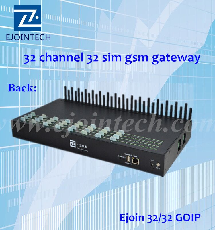 15% promotion ejointech 32 ports zigbee gateway for unlimited internet call