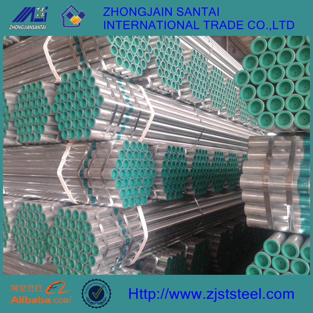 astm a120 1.5 inch hot dipped galvanized steel conduit pipe