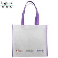 Wholesale Price Shopper Bag,Eco-friendly Tote Bag,Handle Non-woven Shopping Bag