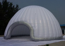 Hot sale PVC winter inflatable dome
