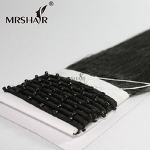 Best Selling EZ Micro Ring Remy Hair Weft Micro Bead Machine Hair Weave 100% Human Remy Hair
