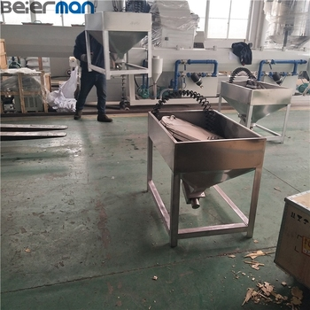 Plastic powder/granules screw loader for conveying raw material to extruders 100-1000kg/h