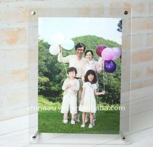 2012 new clear acrylic family picture frame