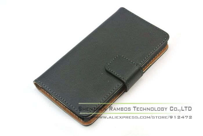 Flip Leather Wallet Card Holder Case Stand Mobile Cell Phone Accessories Covers for Sony Xperia Z1 Mini