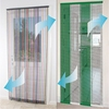 4 pieces anti insect mosquito magnetic mesh door curtain