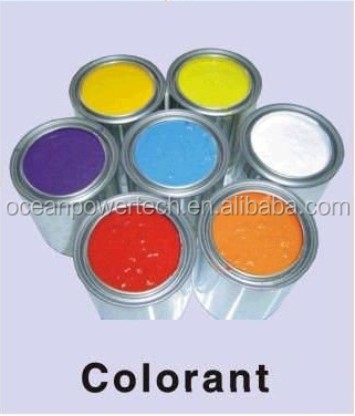Ecology friendly CP aqueous pigment paste / water based colorant / soluble colored paint for emulsion&architectural&wood coating