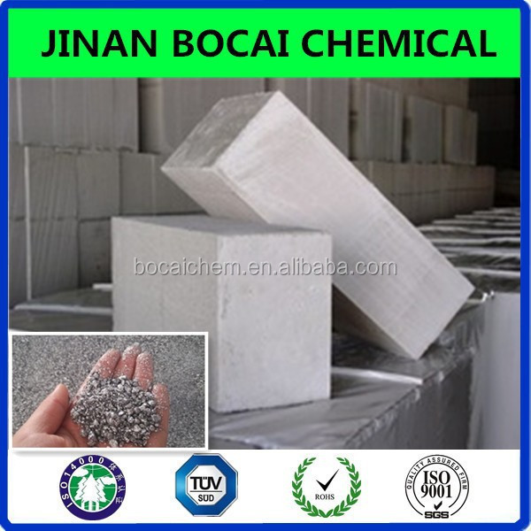 aac construction block raw material aluminium paste for foaming application