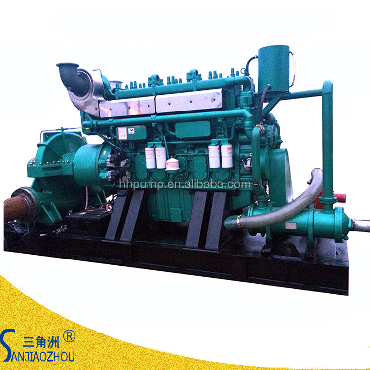 flow rate 3170 m3/h lift 100m high flow rate centrifugal water pump used for mining