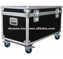 Fire-proof Utility Trunk Road Case With Casters