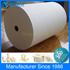 custom printed spraying crepe paper masking tape jumbo roll manufacturers 80 degree white and yellow