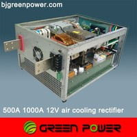 ac dc 500A-20000A 6V-500V switch mode power supply rectifier system
