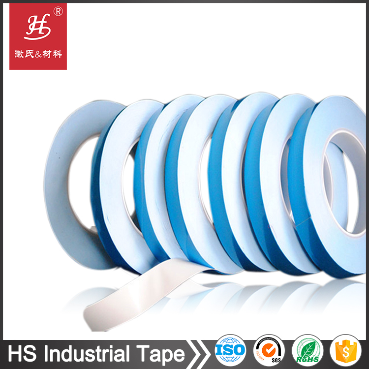 Acrylic adhesive thermal conductive double sided tape for cooling devices heat sinks