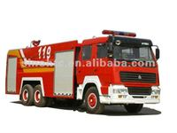 HOWO 6x4 Foam Water Fire Truck