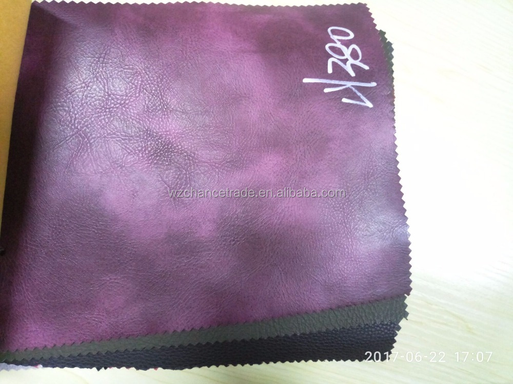 marble stretch pu synthetic leather hot selling in India