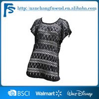 Cheap Price black sex Short Sleeve Ladies New Design Plain Blank Raglan T Shirt Wholesale