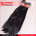 Malaysian straight human hair bundles100% unprocessed remy virgin human hair