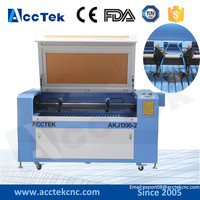 dual heads co2 wood design laser cutter machine/co2 laser engraving and cutting machine 1390 price