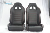 Adjustable car racing seat lightweight leather racing seat