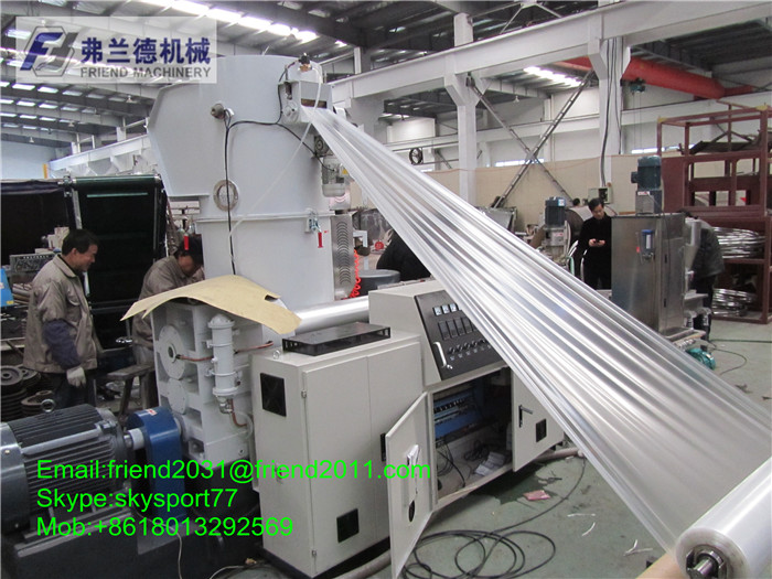 Hot selling pe pp plastic film granulating machine pelletizing line recycling extruder